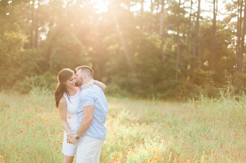 Alex + Shelby // Montgomery Texas Engagement Session