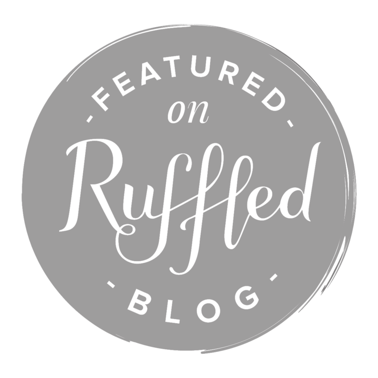 As Featured on Ruffled Blog
